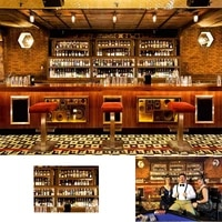luxury bar backdrop alcohol wine bottles eatery cafes drink urban club interior modern tavern counter photography background
