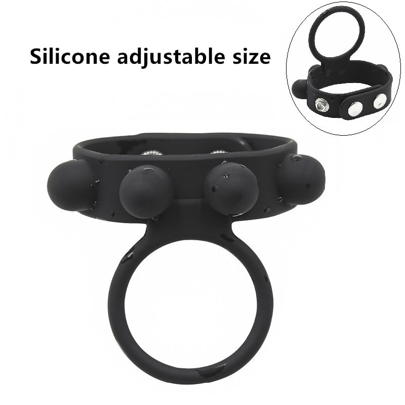 Male Ejaculation Extender Penis Sleeve Adjustable Size Large Silicone Novelty  cock rings delay ejaculation penis silicone