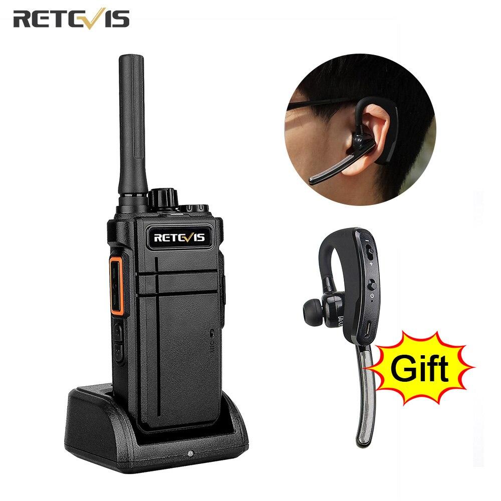 AliExpress - Retevis Walkie Talkie Bluetooth RB637 PTT Bluetooth PMR 446 FRS Two-way Radio Portable Radio Walkie-talkies for Hotel Restaurant