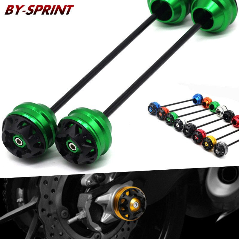 cnc modified motorcycle accessoris front wheel for benelli tnt 899s 2011 2017 drop ball shock absorber Motorcycle CNC Falling Protector Front Rear Wheel Drop Ball Shock Absorber Cap For Kawasaki Z900 Z 900 z900 2017 2018 2019 2020