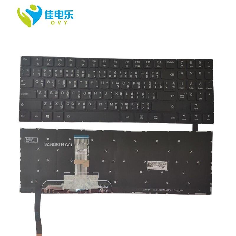 OVY TI لوحة المفاتيح لابتوب لينوفو Y520-15 Y720-15 المنقذ R720-15 الفيلق Y520-15IKBA مع الخلفية 5CB0N00289