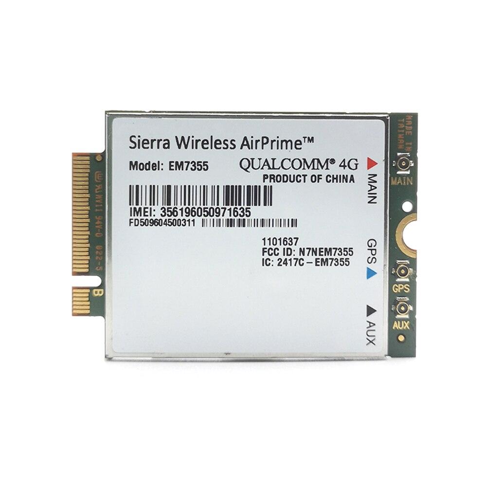 Sierra sem fio airprime em7355 gobi 5000 4g lte módulo ngff wwan cartão para at&t