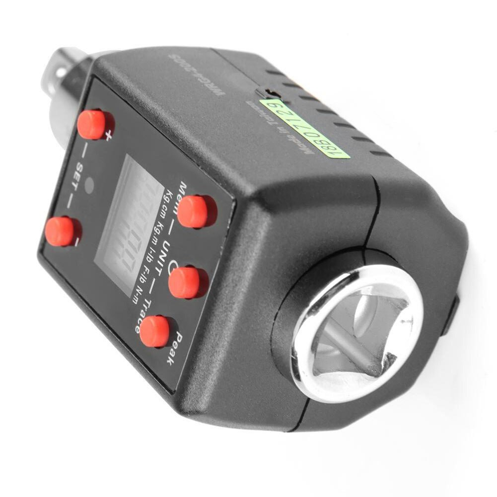 High Precision Electronic Digital Display Torquemeter Adjustable 2-200Nm 1/4