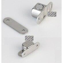 Loquet magnétique de porte darmoire 10 pièces/lot   Raccords de quincaillerie en acier inoxydable