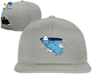 Yellowpods Shark Tornado Men's Relaxed Medium Profile Adjustable Baseball Cap