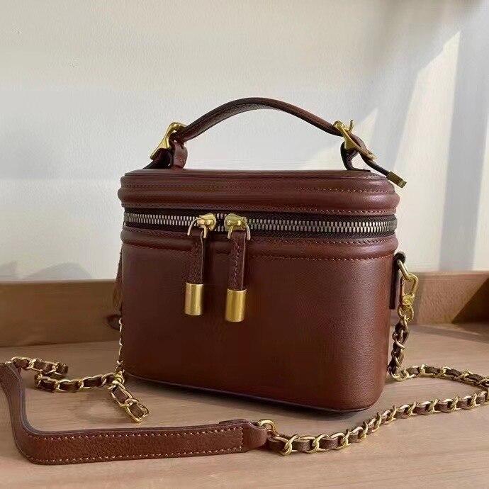 ترف المرأة حقيبة كروسبودي محفظة صغيرة مخزن للمكياج حقائب صغيرة صندوق مربع حقيبة كتف