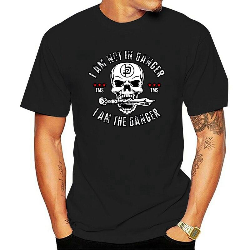 Krav Maga I Am The Danger-Camiseta de Hip Hop para hombre, camisa...