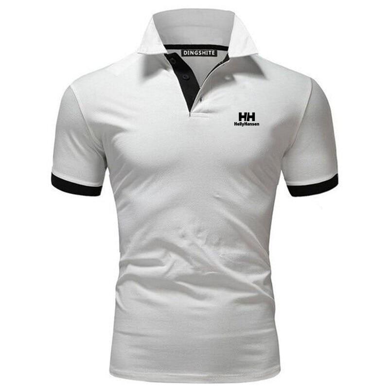 Helly hansen-running men designer de secagem rápida t-shirts correndo magro ajuste topos t esporte masculino fitness ginásio t camisas músculo