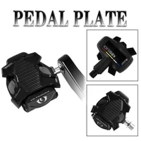 richy bicycle pedal anti skid bike clipless pedal platform adapter convert for shimano spd look keo bike clip pedal adaptor