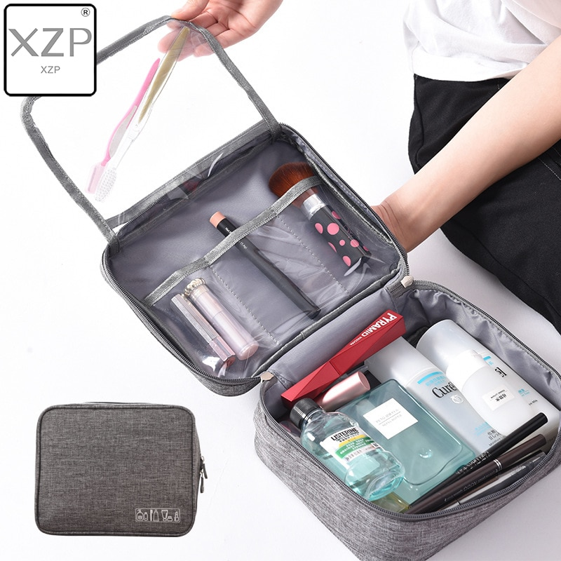 XZP Women Travel Hanging Cosmetic Bag Makeup Necessary Toiletry Wash Organizer Beauty Vanity Make Up