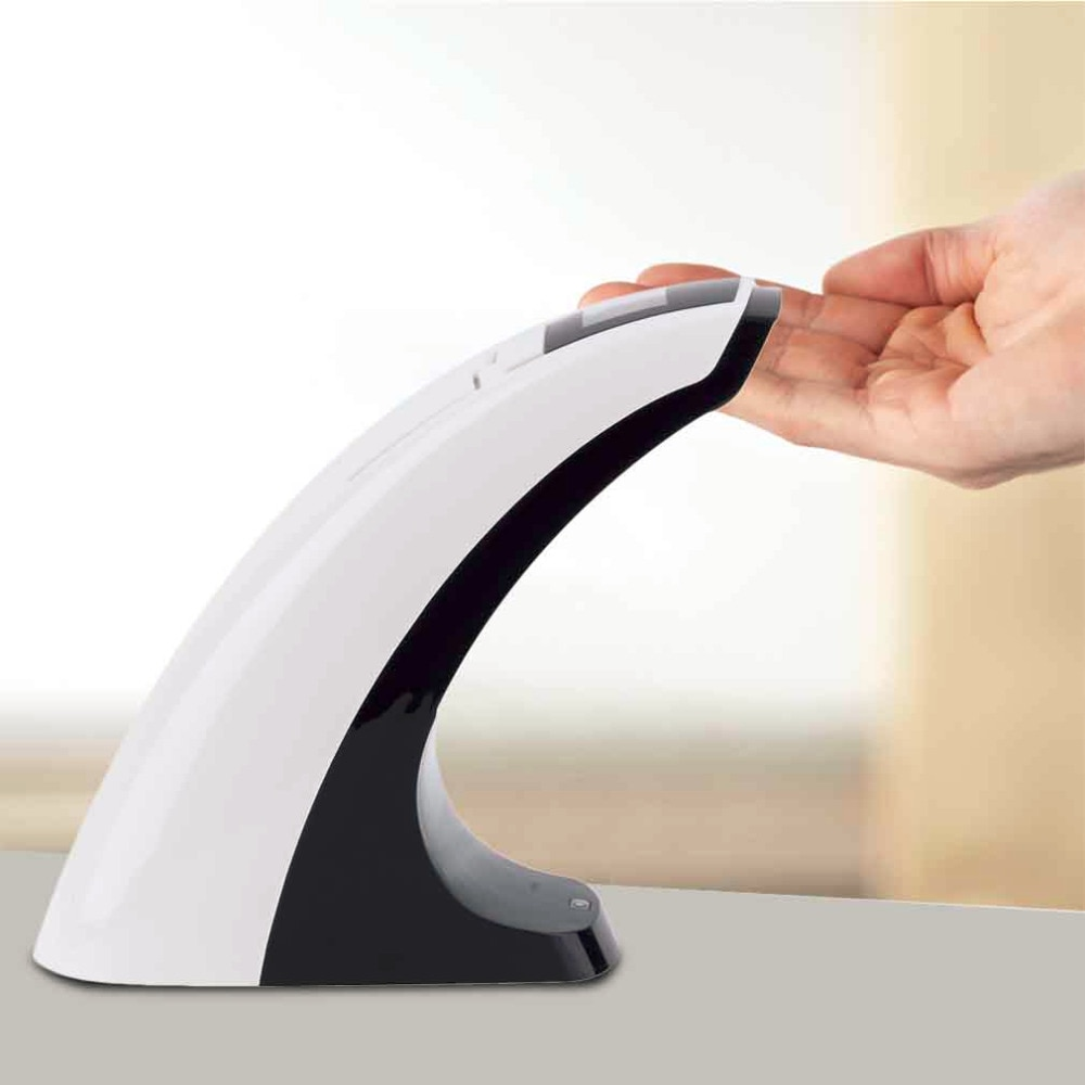 Manos Libres Sensor automático inteligente táctil LCD jabón líquido dispensador 300ML Sensor inteligente