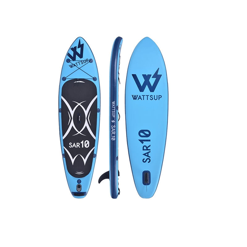 Inflatable Surf Stand Up Sup paddle board iSUP Surfing Paddle board SAR10 All Round wake board kayak boat size305*81*15cm