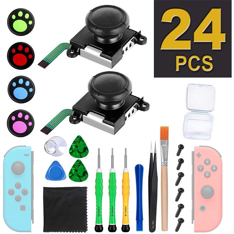 Joycon Joystick Ersatz für Nintendo Schalter Freude Con Zubehör 3D Analog Thumb Stick Controller Repair Tools Kit
