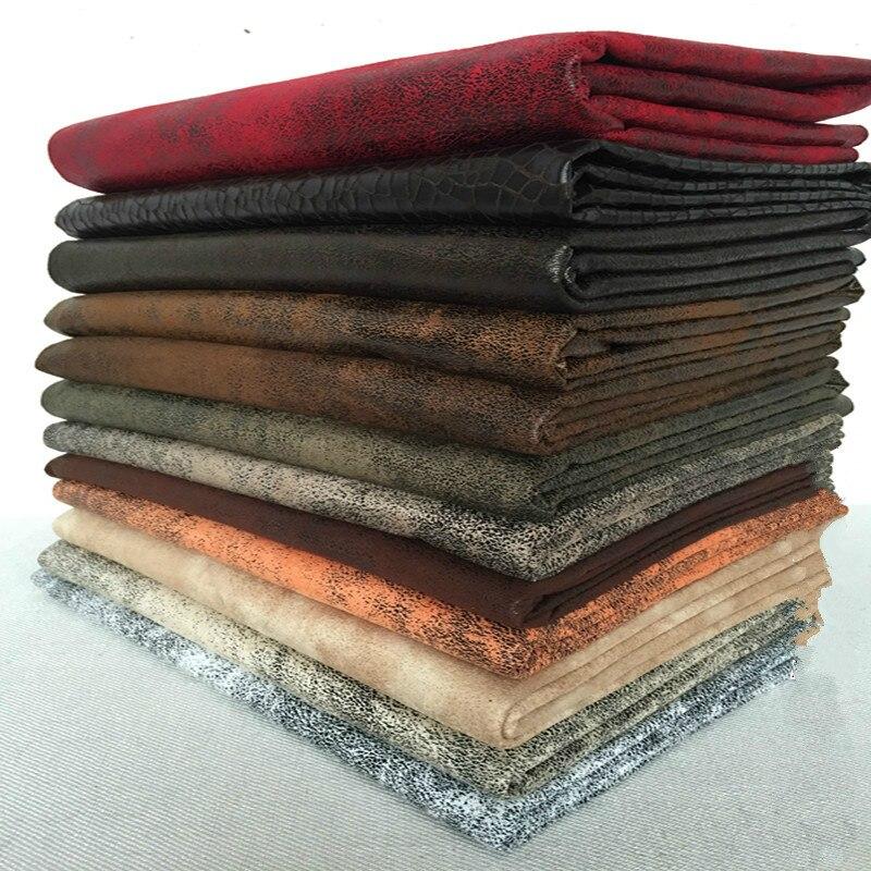 """Ancho 47 """"Calidad de tela de tapicería para sofá por el patio engrosamiento Color sólido suave tela de franela bolsas"""