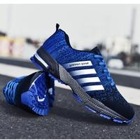 Кроссовки мужские дышащие, удобные, для бега и ходьбы, модная повседневная обувь, для больших размеров 46, 48