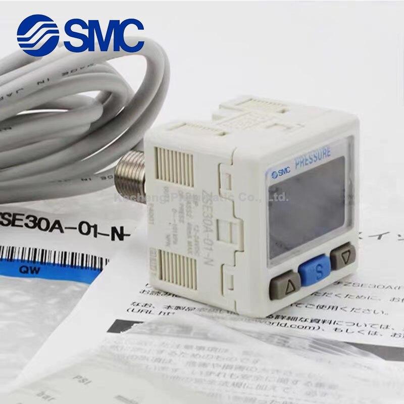 SMC مفتاح ضغط رقمي ZSE30AF-01-N ZSE30AF-01-N-M ZSE30AF-01-P ZSE30AF-01-P-M ZSE30AF-01-A ZSE30AF-01-B