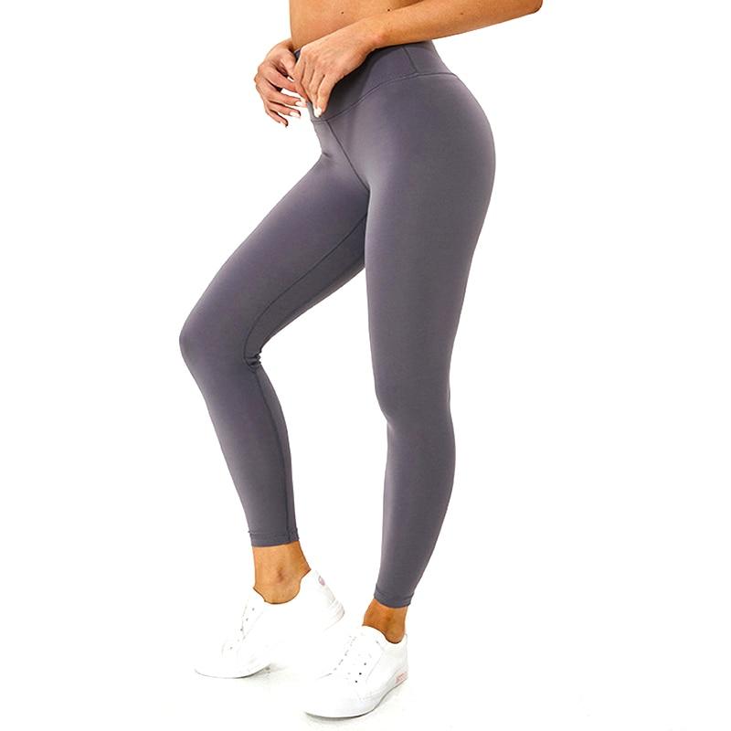 Butter Fühlen yoga Leggings Frauen Yoga Hosen Stretchy Gym Leggins Sport Frau Sport Strumpfhosen Scrunch Leggings