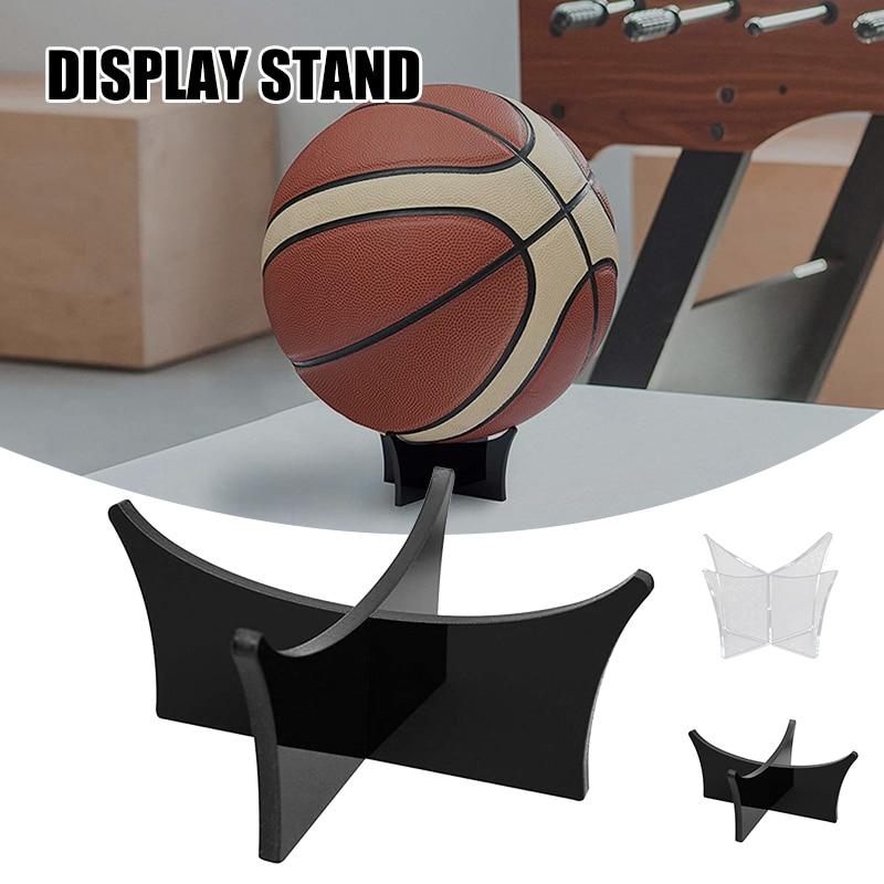Soporte de acrílico para voleibol, estante de exhibición de voleibol, Rugby, hogar