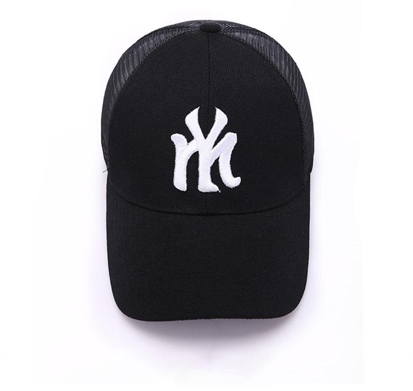Мужские и женские новые модные повседневные бейсболки с защитой от солнца для улицы, летние модные Универсальные дышащие кепки в Корейском ...