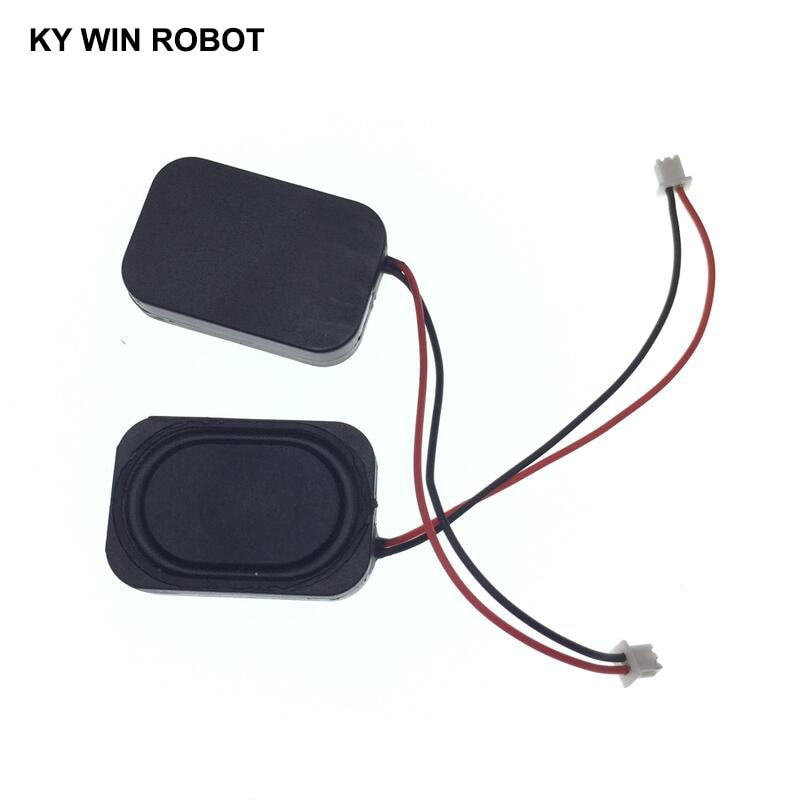 2pcs aucharm new p610l 6 5inch full range speaker driver unit casting aluminum frame upgrade leather surround 8ohm 15w d170mm 2pcs New Electronic dog GPS navigation speaker plate 8R 1W 8ohm 1W 2030 20*30*4mm with 1.25mm terminal wire length 6CM