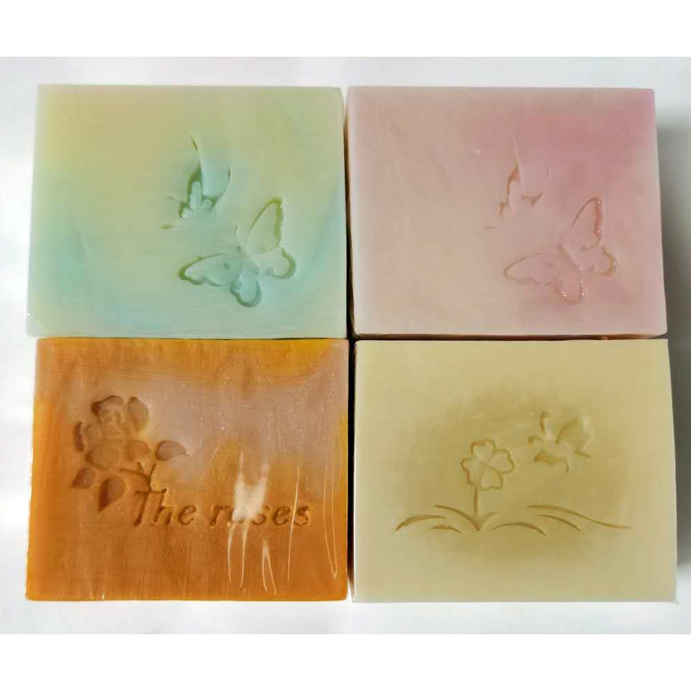 Rose Horse Oil Cold Soap Rose Cold Process soap Rose Oil soap facial whitening soap face cleansing soap natural hand made soap