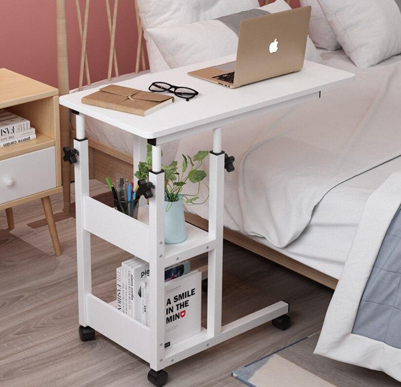 Прикроватный маленький столик, прикроватный столик, Маленький подвижный чайный столик, подъемный прикроватный столик, прикроватный мини-с...
