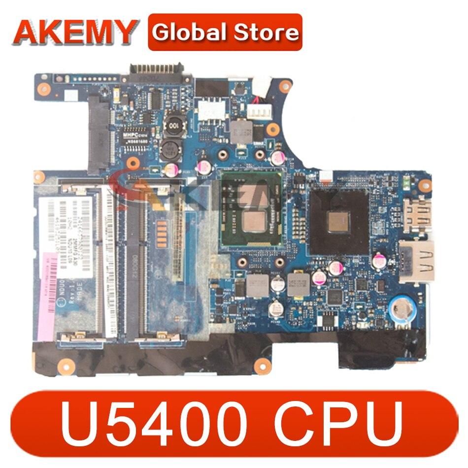 AKEMY K000106930 اللوحة الرئيسية لتوتوشيبا الأقمار الصناعية T230 اللوحة الأم NDU00 LA-6031P U5400 وحدة المعالجة المركزية على متن DDR3 يعمل