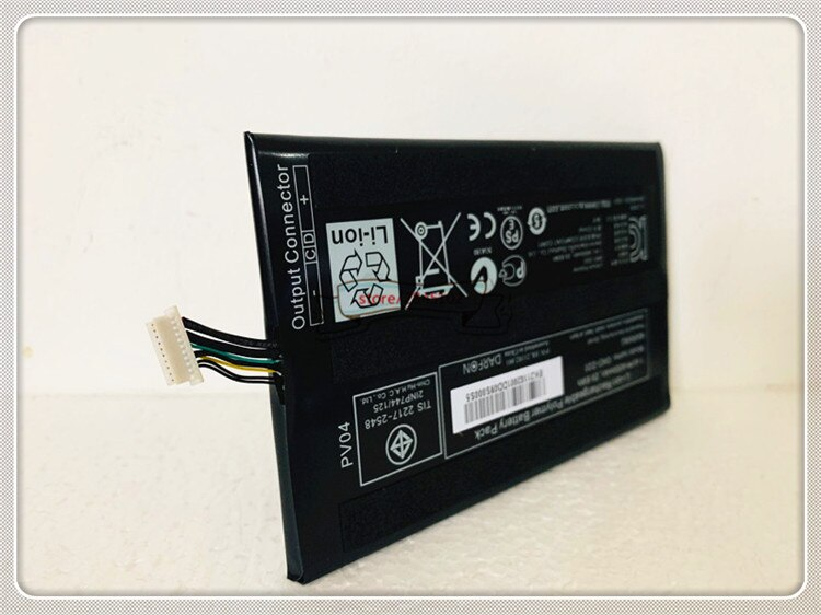 GYIYGY GND-D20 7,4 V 4000mAh 29,6 wh Аккумулятор для ноутбука для батареи серии GIGABYTE S1080