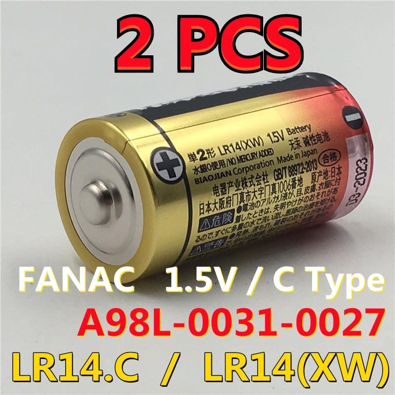 Batería de Robot FANAC LR14.C LR14(XW), 1,5 V, tipo C, PLC, 2...