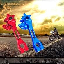 1 pz accessori moto 4 colori freno posteriore bilanciere/leva alluminio CNC per Honda Yamaha
