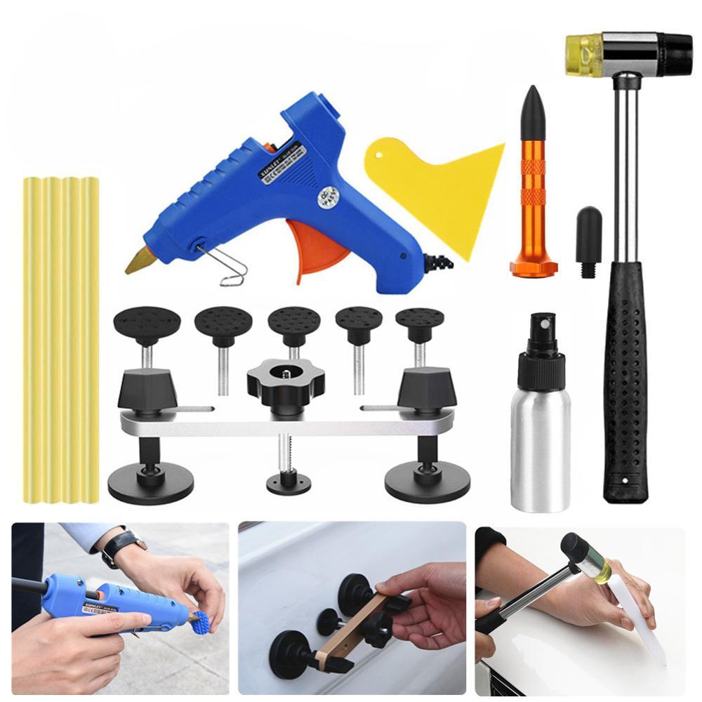 Автомобильные инструменты обезболивающие Инструменты для ремонта вмятин на автомобиле Инструмент для извлечения клея клей пистолет писто...