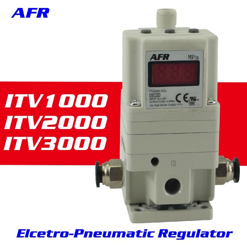 ITV3050 منظم إلكتروني هوائي منظم النسبي النسبي صمام الملف اللولبي 3010-314BS-3050-313CN
