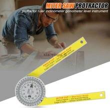 NEUE Ersetzen Starrett Gehrung Sah Winkelmesser 505P-7 Laser Gravierte Zifferblatt Skala Winkel