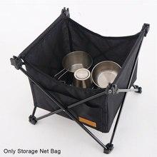 Для пикника портативный Открытый Кемпинг кухонные аксессуары водонепроницаемый складной стол износостойкий невидимый карман для хранени...