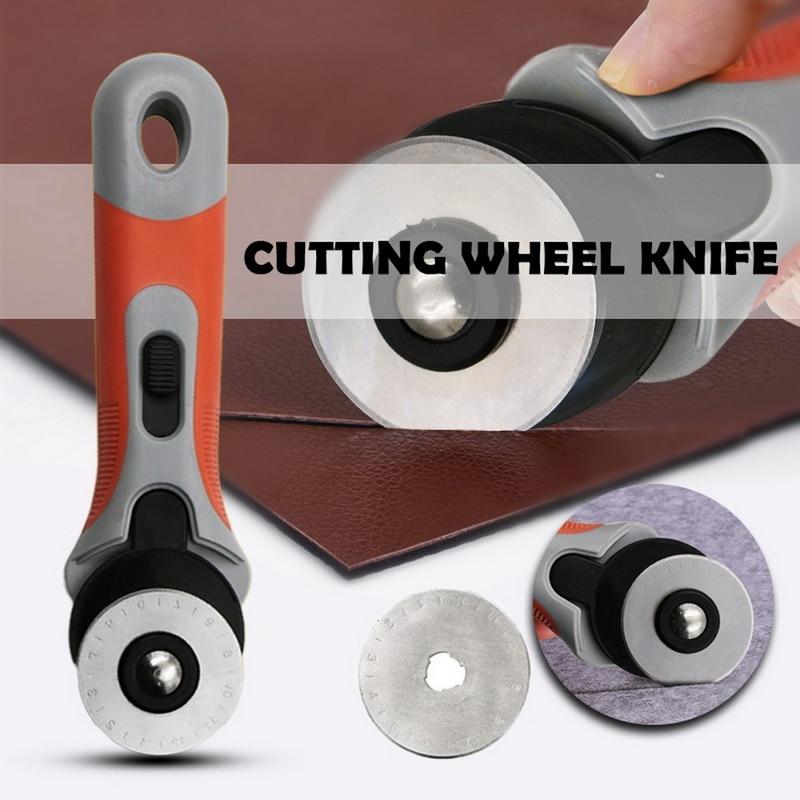 45mm Rotary Cutter Ersatz Klingen Fit Rotary Cutter Stoff Papier Kreisförmigen Schneid Patchwork Handwerk Leder