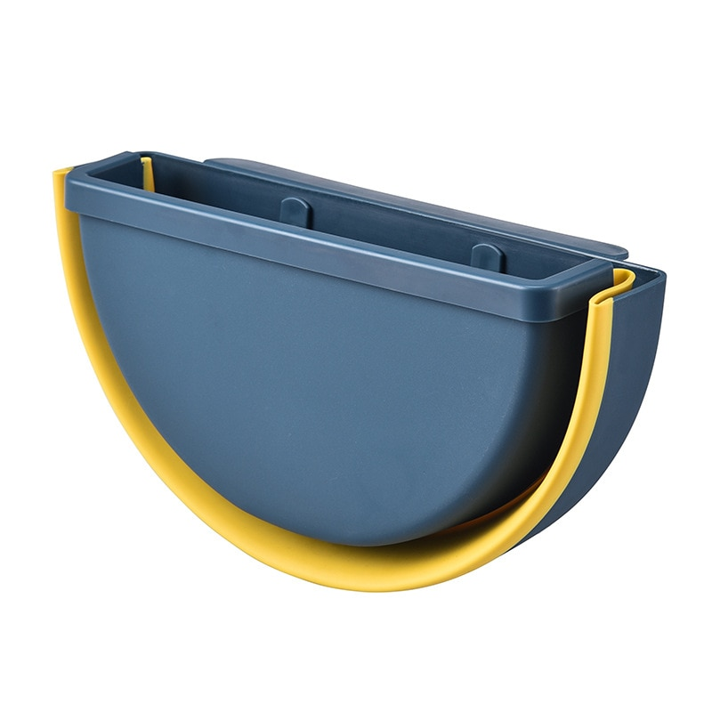 Hanging Folding Trash Can Car Seat Back Hanging Storage Bucket Car Trash Bin Kosz Na Smieci Garbage