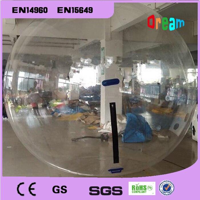 Envío gratis 1mm TPU 1 pieza de agua Bola de rodillo y 6 piezas de parachoques inflable Bola De Agua inflable Bola de hámster para humanos