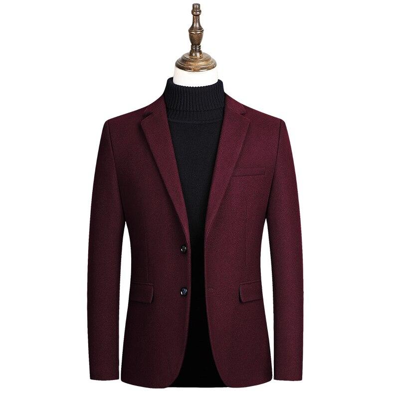 Новинка мужской кашемировый пиджак приталенные костюмы мужской деловой официальный пиджак мужской свадебный костюм куртки мужской модный...