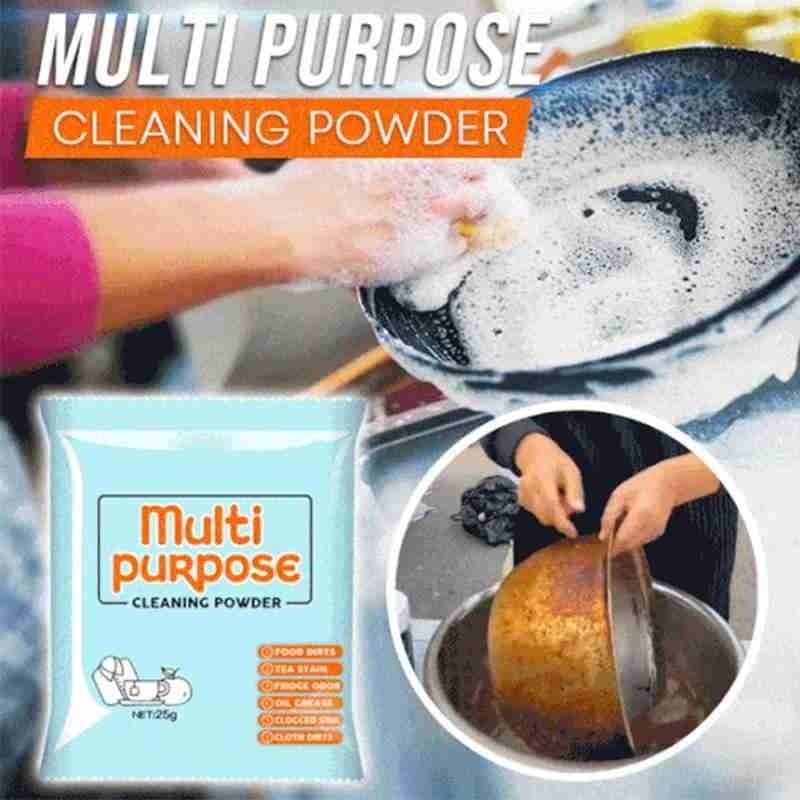 1PC Multi Purpose Kitchen Grease Cleaner Soda Powder Decontamination Baking Soda Powders Cleaning Deodorization Household