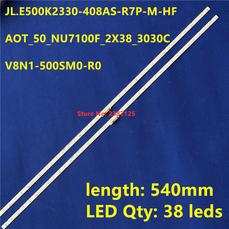120 قطعة LED شريط إضاءة خلفي ل 50NU7100 UN50NU7100 UE50NU7100 UE50NU7400 UN50NU7400 UE50NU7020 UN50NU6900 UE50NU7090 UA50NU7800