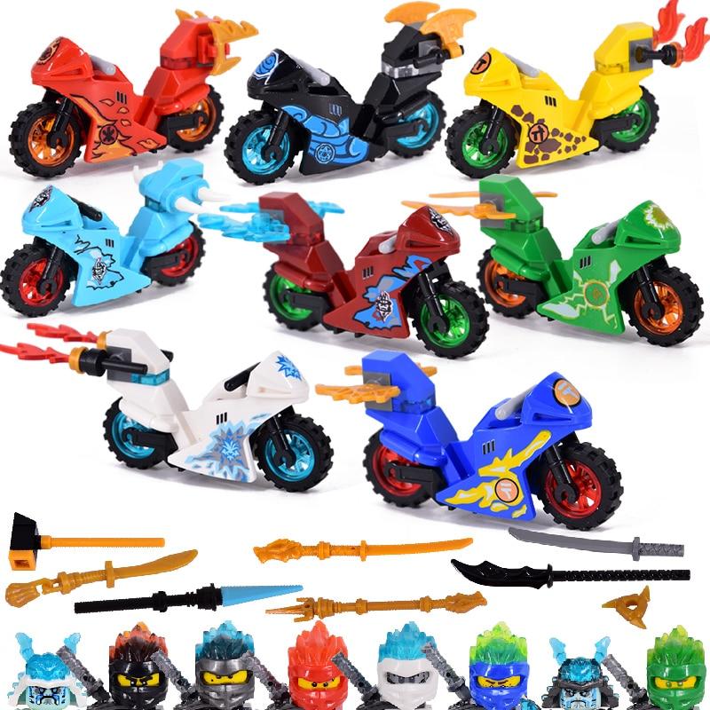 2020 nueva serie Ninja Fire Fang Compatible con Ninjagoes modelo bloques de construcción juguete de ladrillo regalo de Navidad para niños