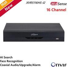 Dahua 16CH XVR enregistreur XVR5116HS-I2 16 canaux 5M-N/1080P Compact 1U WizSense enregistreur vidéo H.265 + AI recherche reconnaissance des visages