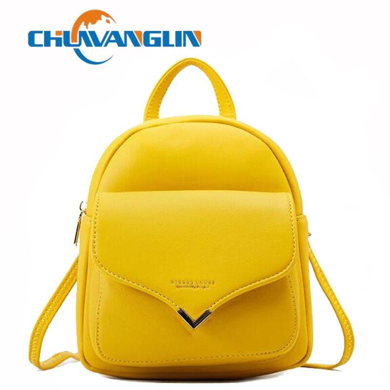 Mochila Chuwanglin para mujer, mochila pequeña multifunción de tacto suave, bolso de hombro para mujer, bolso de chica, mochila F601204