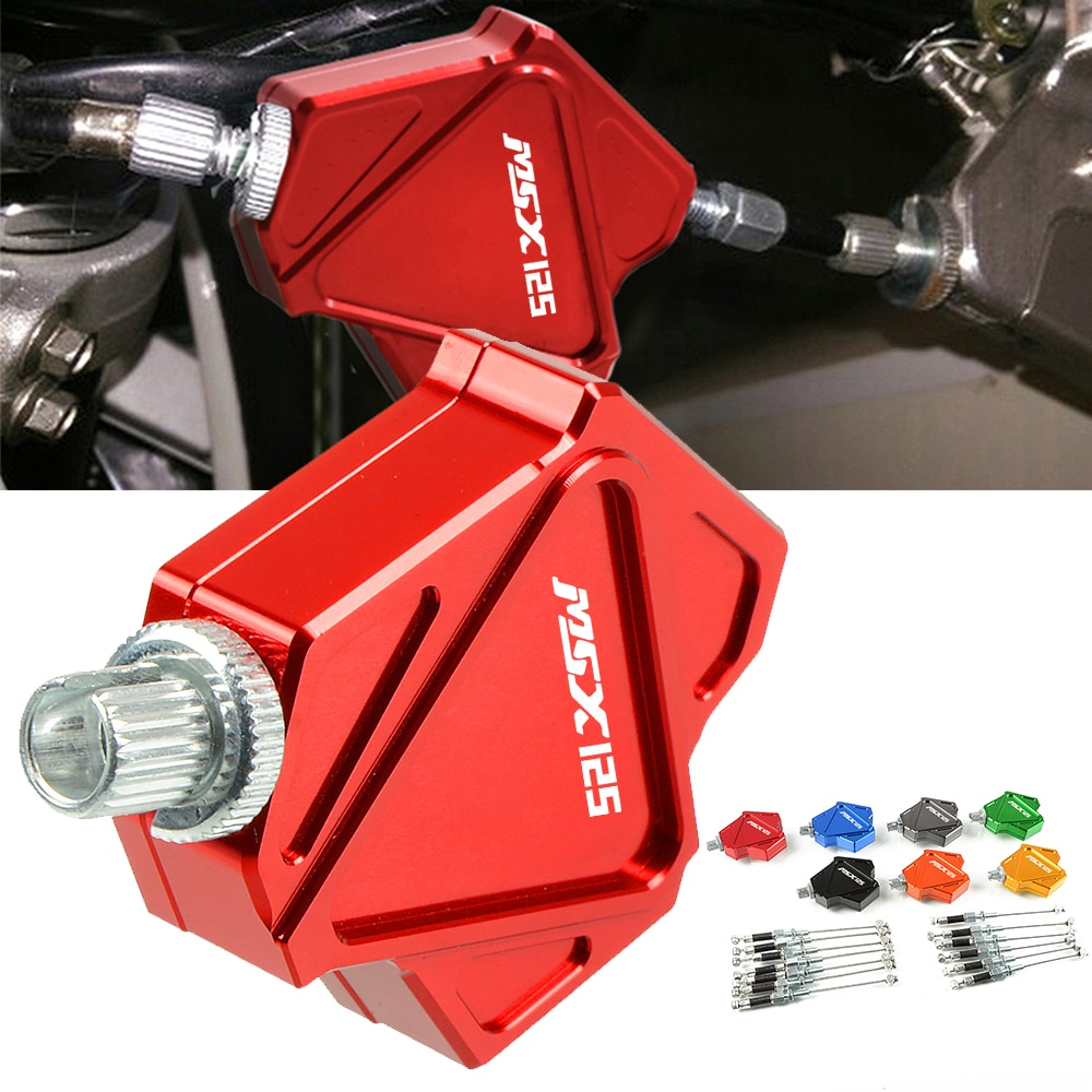 Easy Pull Clutch Lever Motorcycle Aluminum Stunt Clutch Cable Easy System For HONDA GROM MSX125 MSX 125 2014 2015 2016 2017 2018
