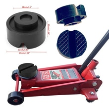 Car Lift Jack Stand Rubber Pads V-groove Car Jack Rubber Pad Anti-slip Rail Protector Support Block Heavy Duty for Car Lift