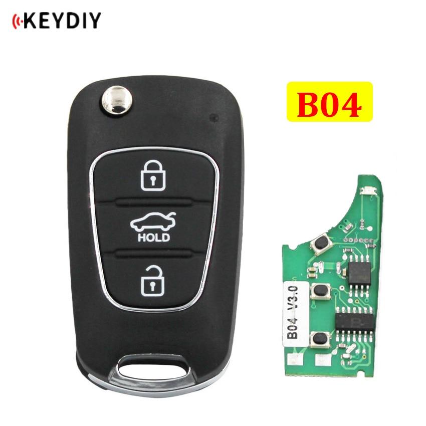Mando a distancia universal KEYDIY serie B B04 3 botones para KD200 KD900 KD900 + URG200 KD-X2 mini KD para Hyundai Style