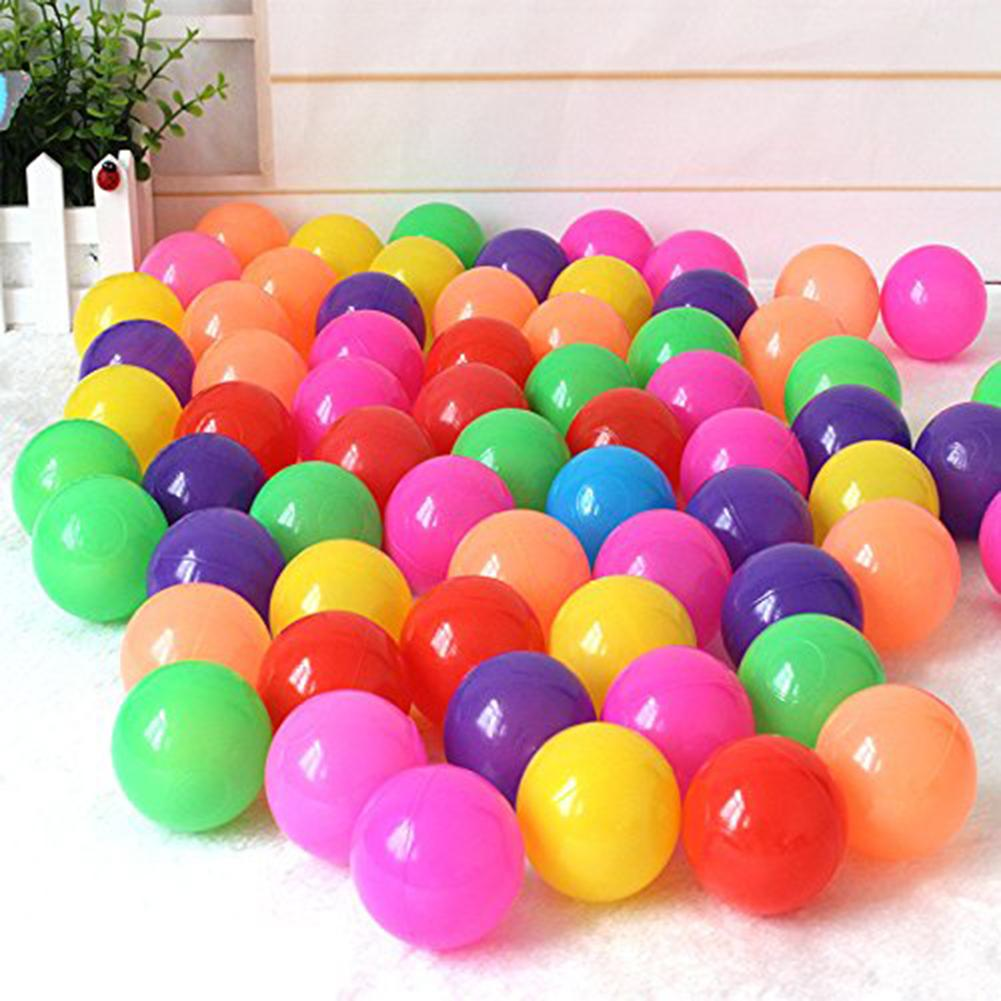 New 50/100/200Pcs Kids Colorful Swimming Pool Ocean Wave Balls Children Bathing Toys Swim Pit Toy Water Pool Ocean Wave Ball