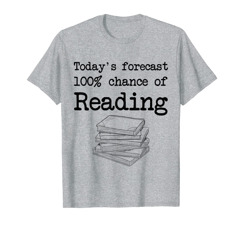 Прогноз сегодняшнего времени-100% Шанс читать футболку