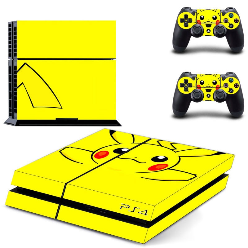 Venta al por mayor, pegatinas de piel grasa PS4 Cubierta de vinilo para consola Sony Playstation 4 y pegatina para control