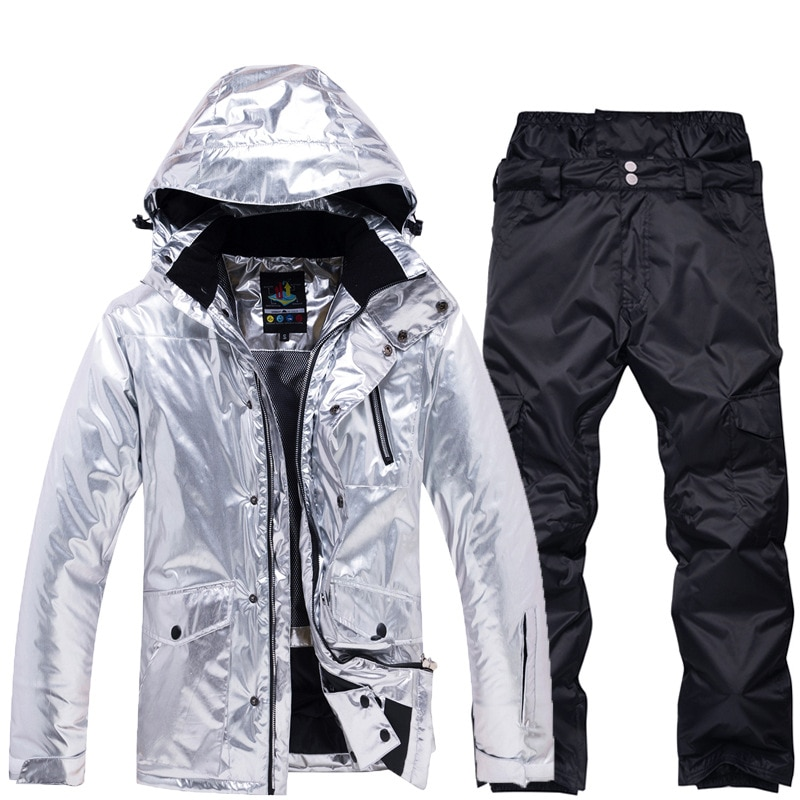 2020 Warm Outdoor Men Ski Suit Waterproof Sports Man Snowboard Sets Winter Jackets Overalls Male Costume Clothes Snow Tracksuit